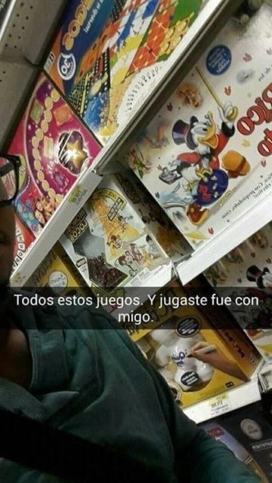 Snapchat historias de amor - tantos juguetes