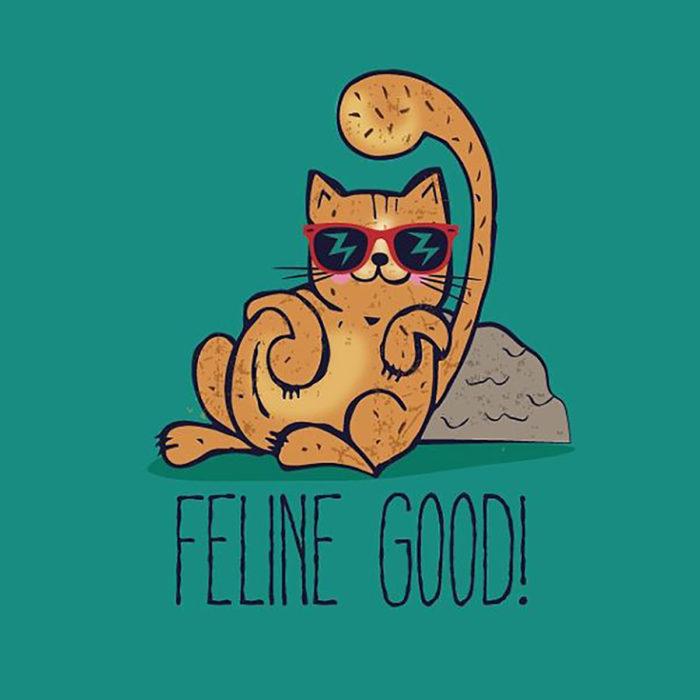 ilustración de un gato