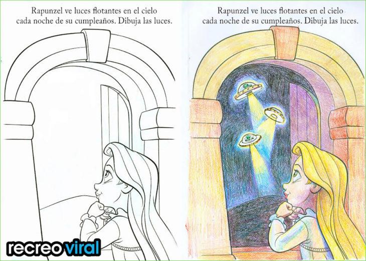 Dibujos para colorear que han sido corrompidos por adulto