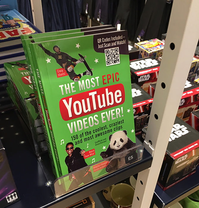 libro de vídeos épicos en youtube