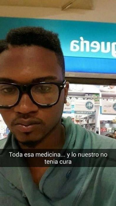 Snapchat historias de amor - tanta medicina