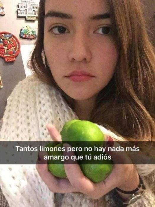 Historias Snapchat - tantos limones