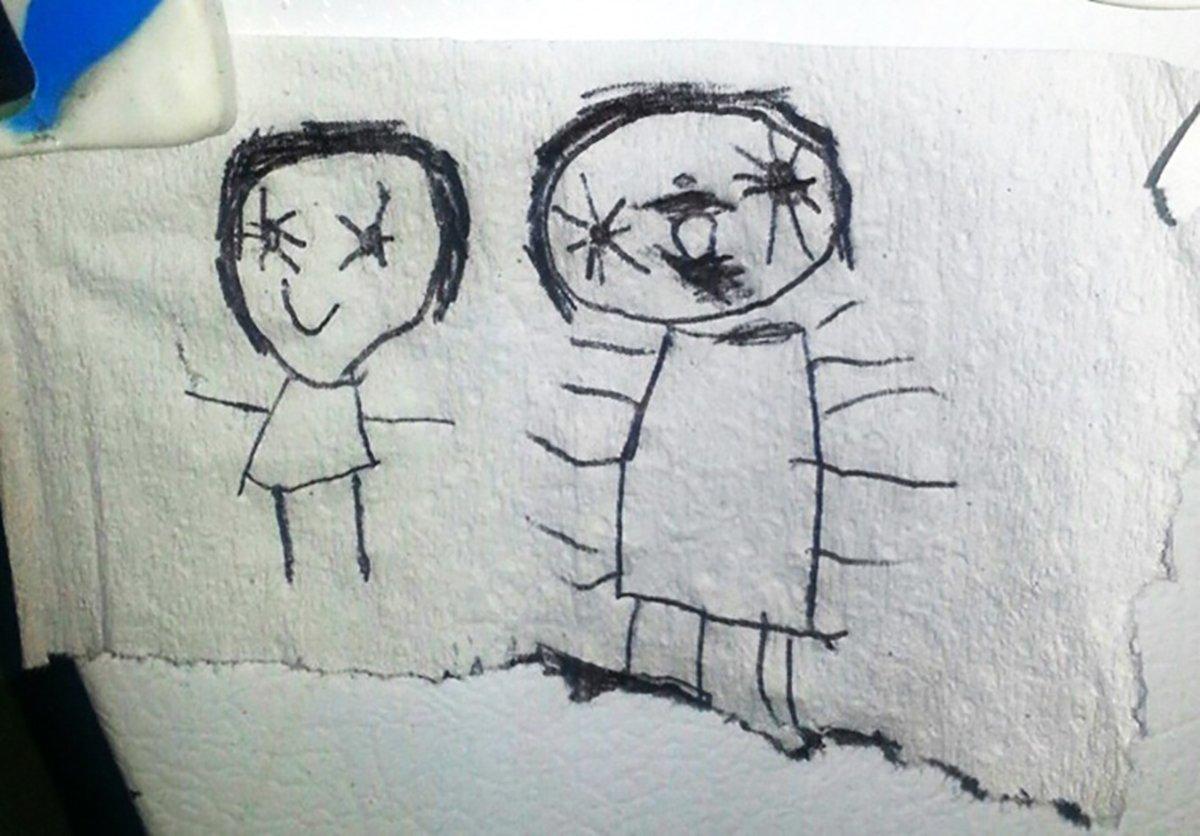Uncategorized Divujos 18 dibujos escalofriantes hechos por masterchollo le pidieron dibujar a su amiga imaginaria