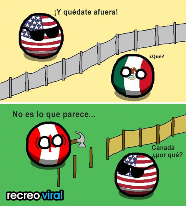 ilustración de pelotas con las banderas de méxico, eua y canadá
