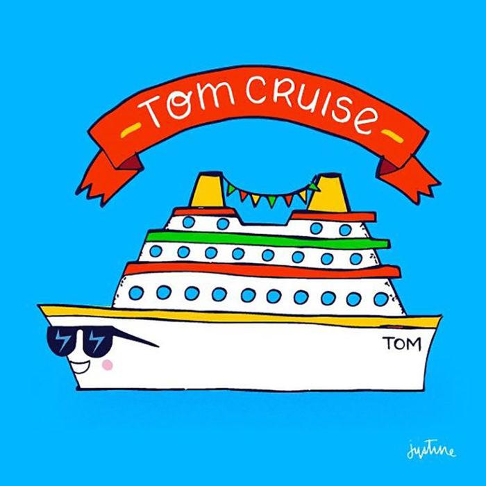 ilustración de un barco con lentes