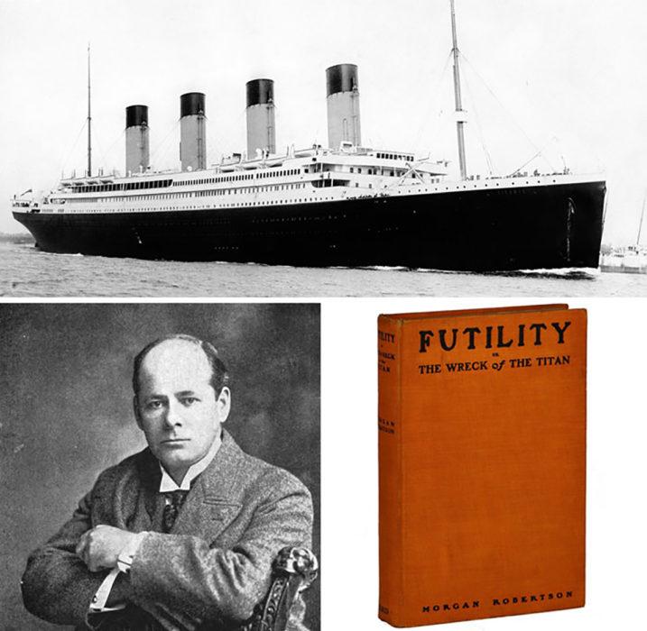 titanic y escritor de futility