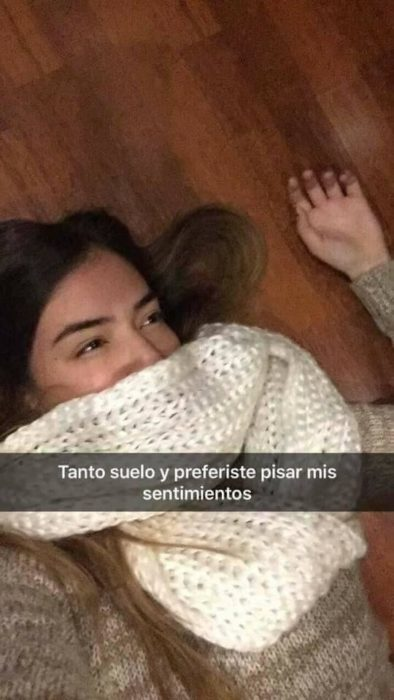 Historias Snapchat - tanto suelo