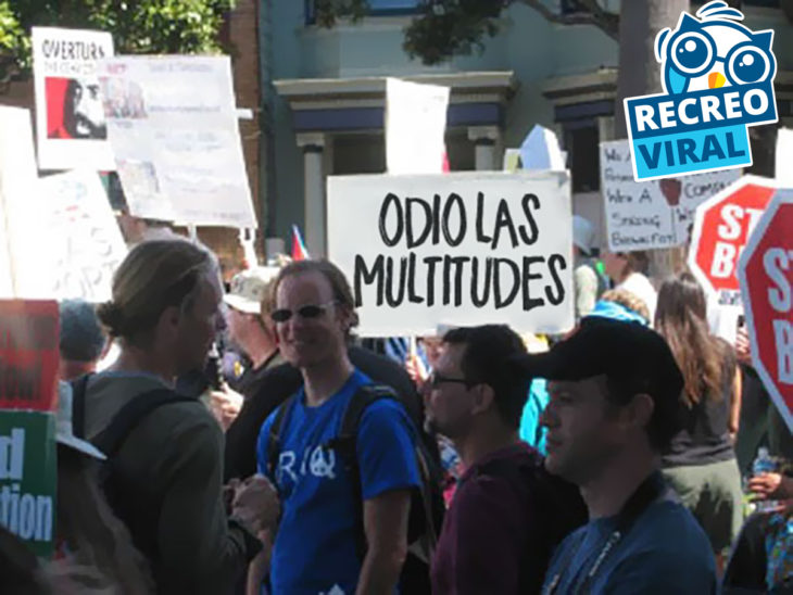 cartel de odio las multitudes