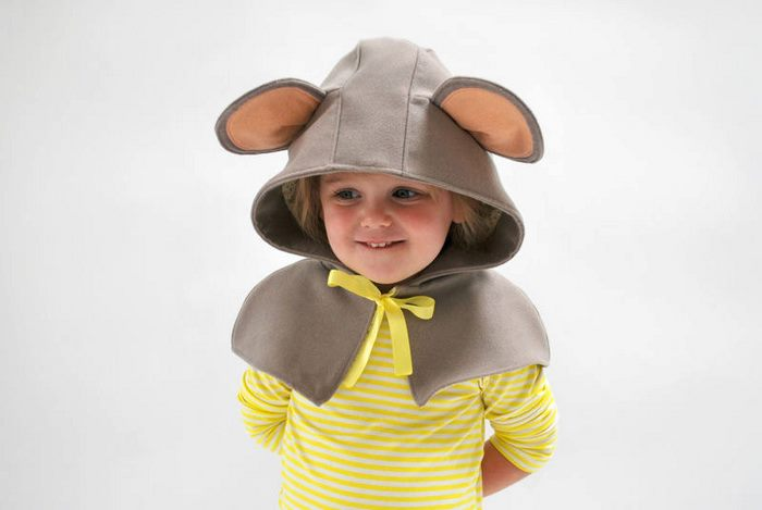 abrigo de ratón para los pequeñines