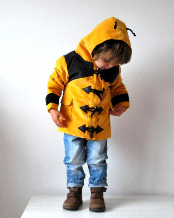 abrigo de abeja para pequeños niños