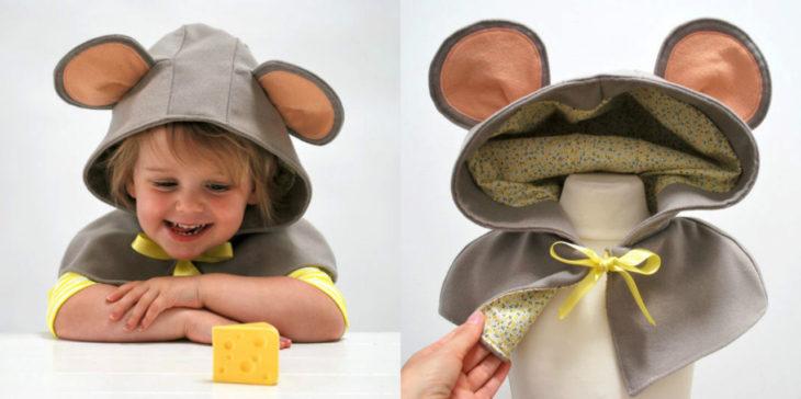 Abrigo de ratón para para tus hijos