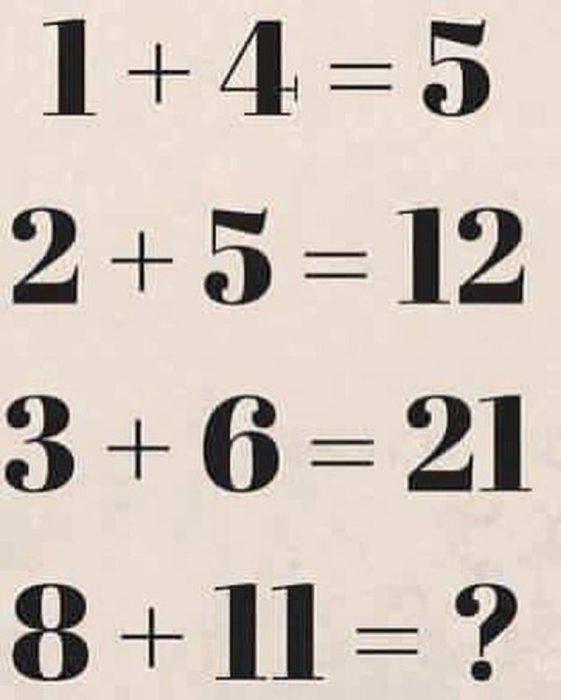 acertijo con números