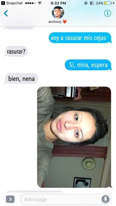 Conversación entre novios