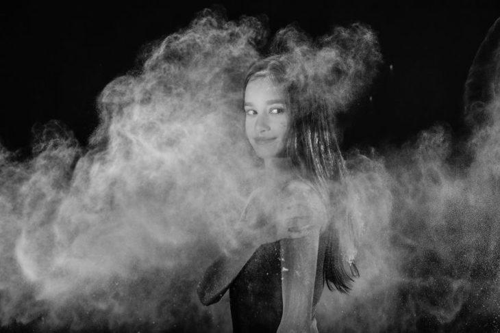 Sesión de fotos neblina chica