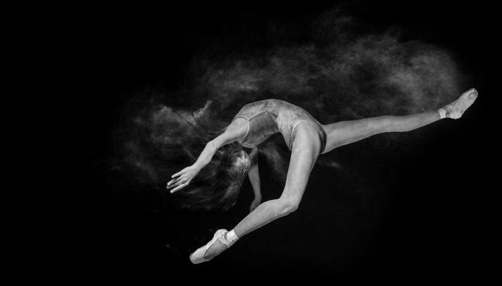 Fotos bailarina blanco y negro