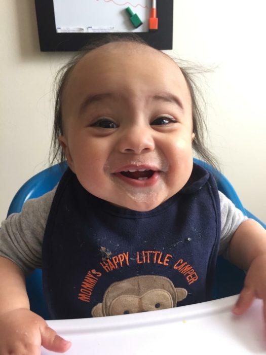 Bebé que se parece a Danny Devito
