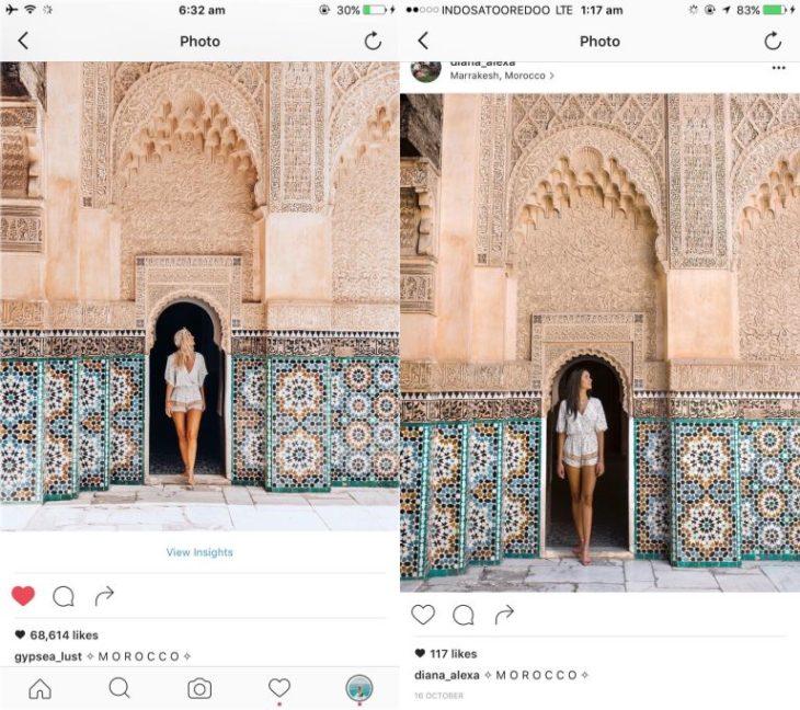 Blogueros instagram copia - Foto en Morocco