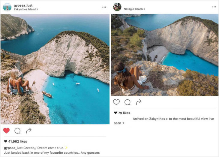 Blogueros instagram copia - Vista en Grecia