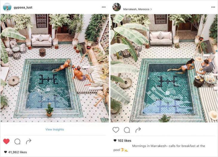 Blogueros instagram copia - Desayuno en la piscina