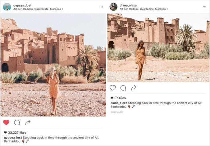 Blogueros instagram copia - Ciudad antigua en Morocco