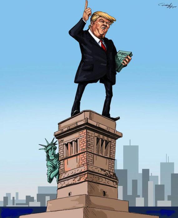 El Trump de la libertad
