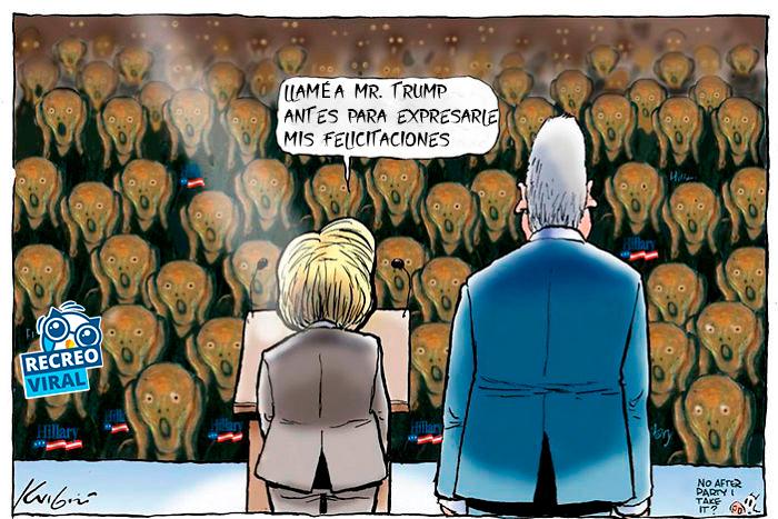 Discurso de Hillary después de perder