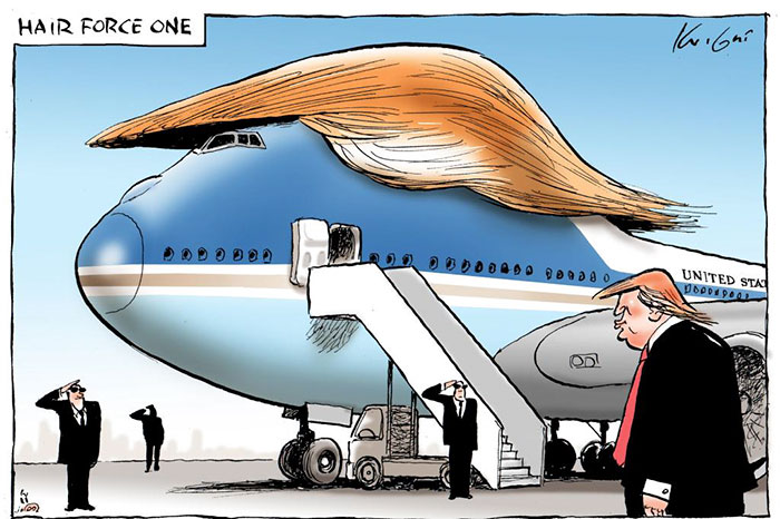 Air Force One de Trump
