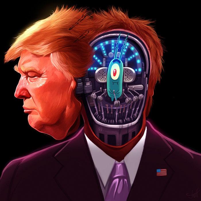 Quien está detrás de Trump
