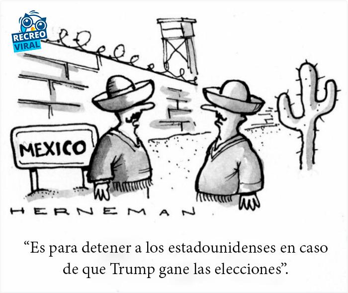 El muro que construirá México
