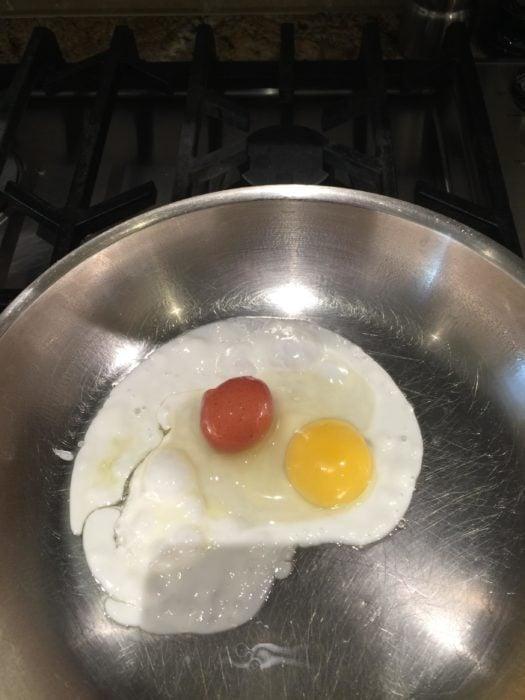 huevo y su hijo huevito