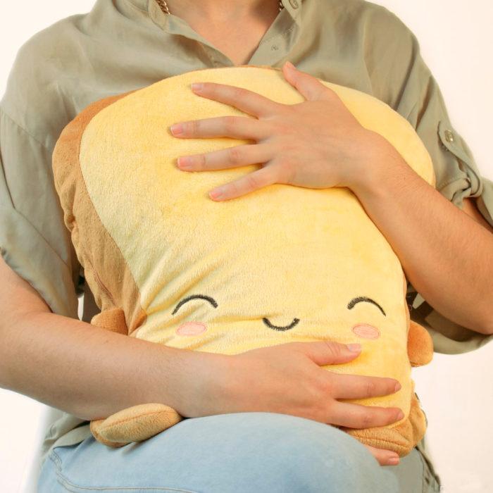 Almohada que se mantiene caliente