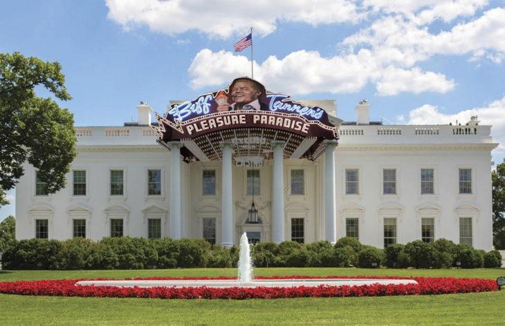 Casa Blanca Photoshop - volver al futuro