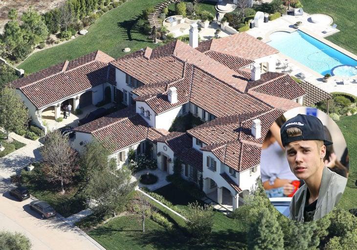 Casas famosos - justin