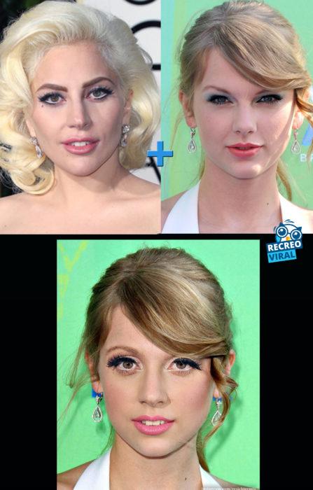 Celebridades fusionadas - Lady y Taylor