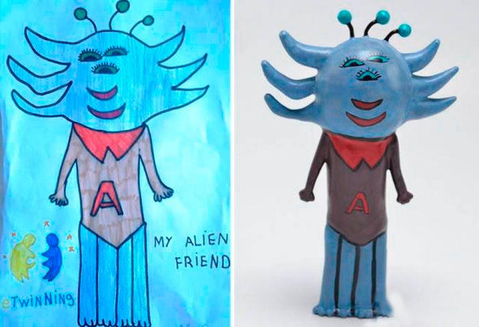 mi amigo extraterrestre