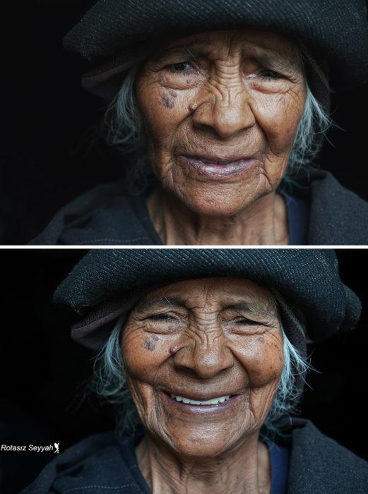 abuelita feliz