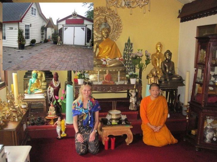 Zillavisitando a un monje budista