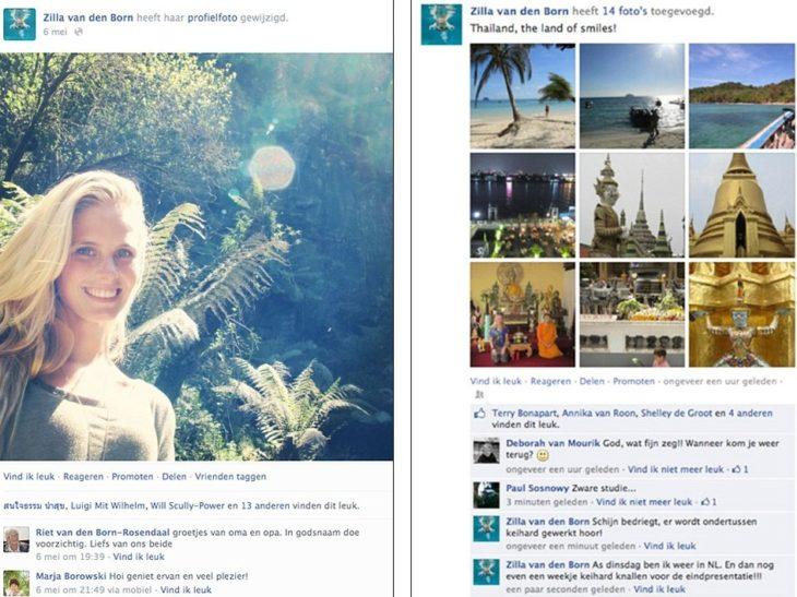 Viaje registrado en redes sociales.