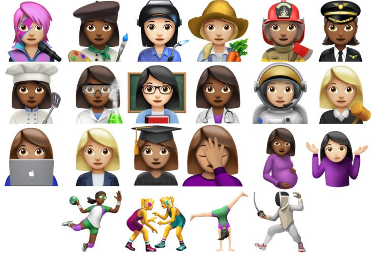 Emoji mujeres