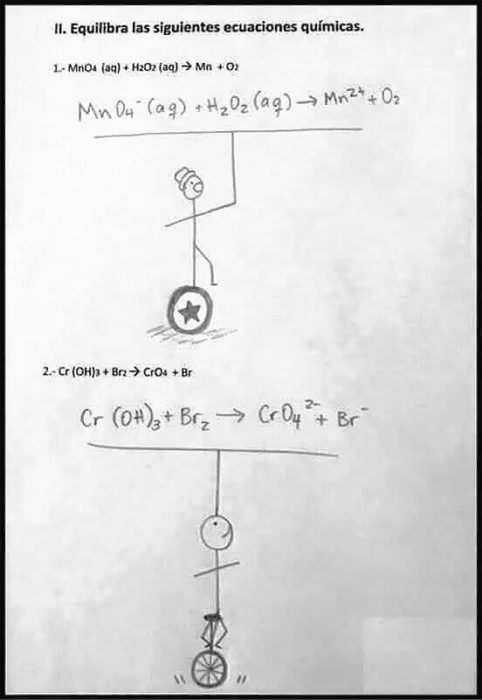 Respuestas exámenes - ecuaciones equilibradas