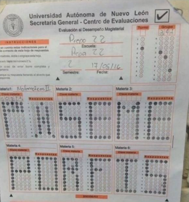 Respuestas exámenes - opción múltiple páseme