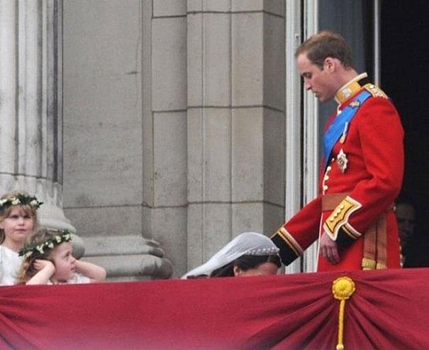 Principe Will y Kate en su boda