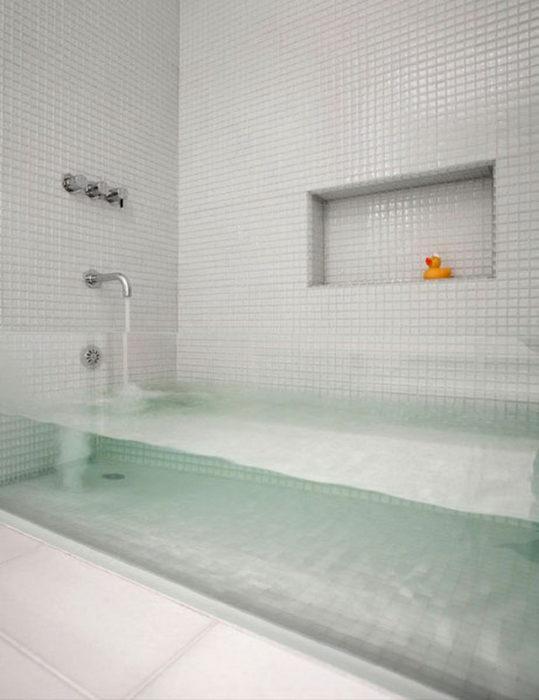tina de baño genial