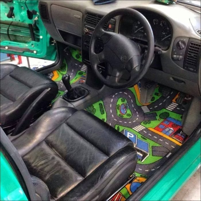 alfombra para carro