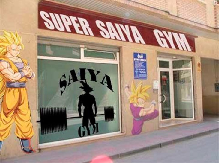 El gym de Gokú