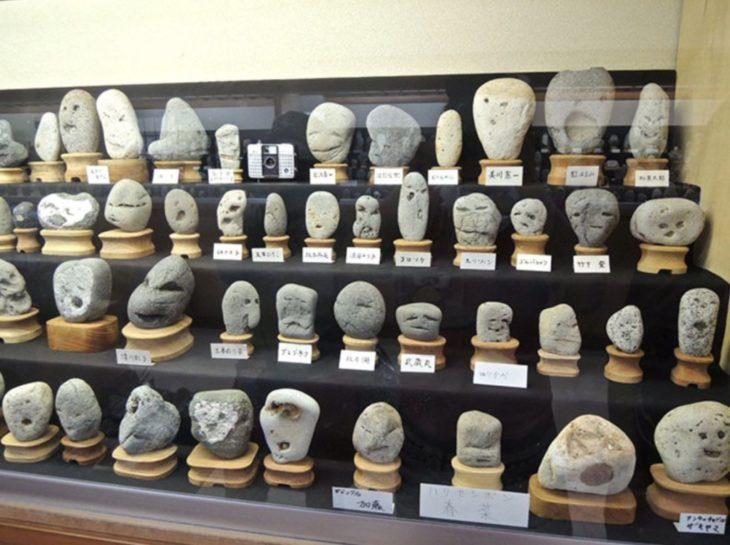 Piedras con forma de rostro