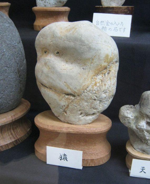 Piedra con rostro de chango