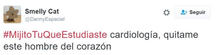 #MijitoTuQueEstudiaste cardiología