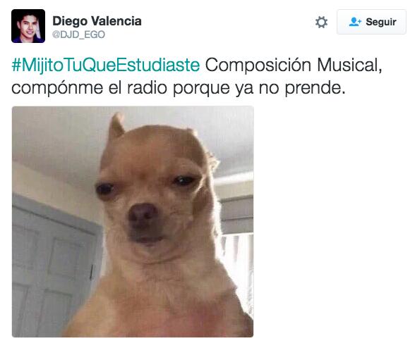 #MijitoTuQueEstudiaste composición musical