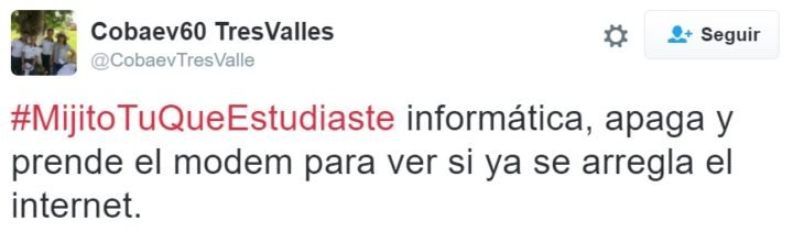 #MijitoTuQueEstudiaste informática